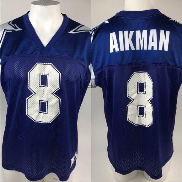 474b881cd apex one Shirts | Vtg 90s Apex Troy Aikman 8 Dallas Cowboys Jersey ...